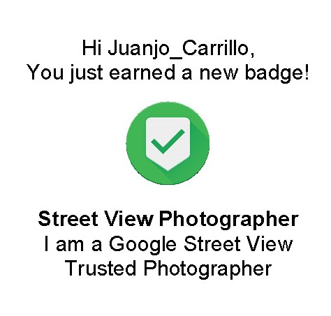 Juanjo Carrillo I am a google Street View Trusted Photographer