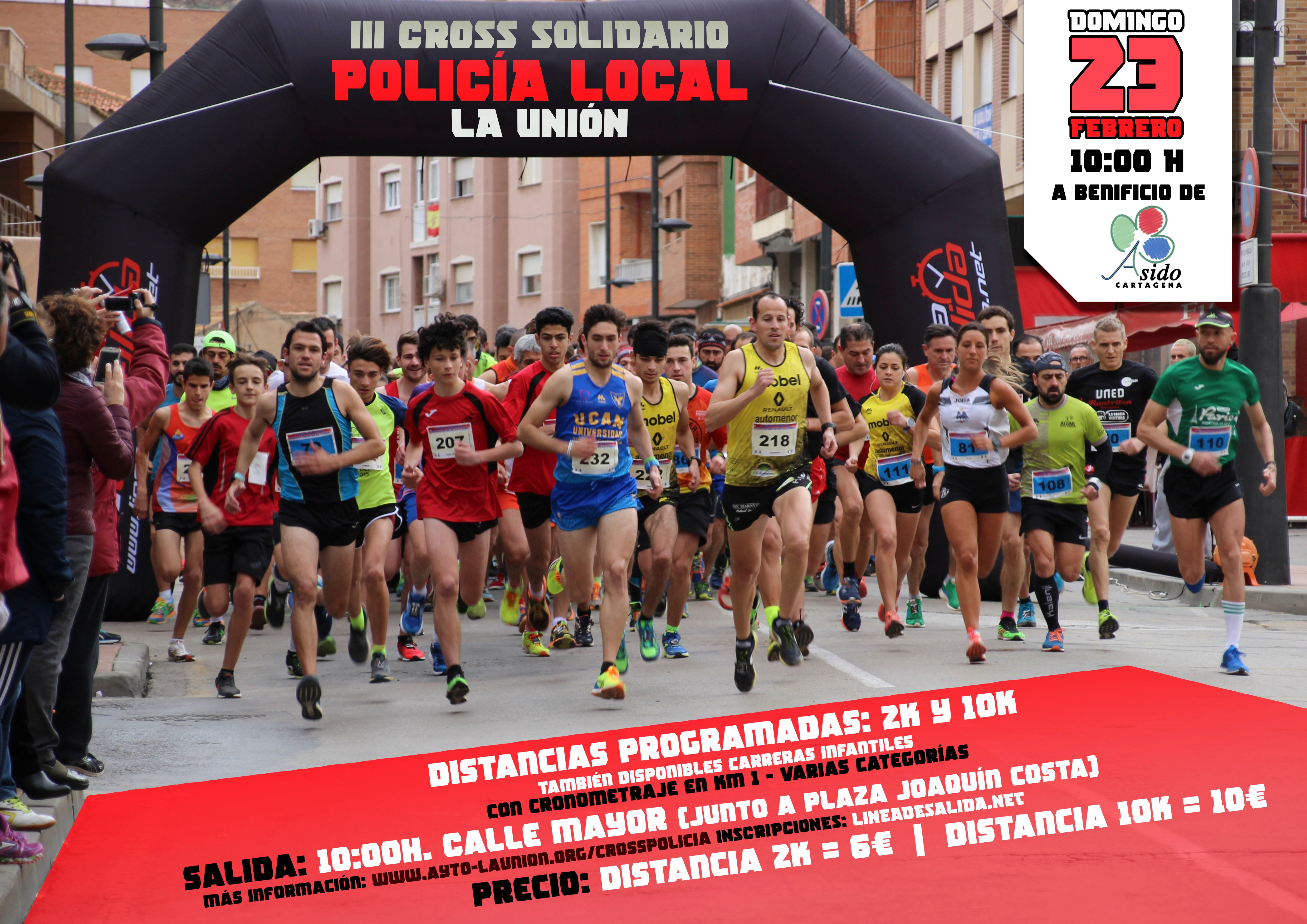 III CROSS SOLIDARIO POLICIA LOCAL LA UNION